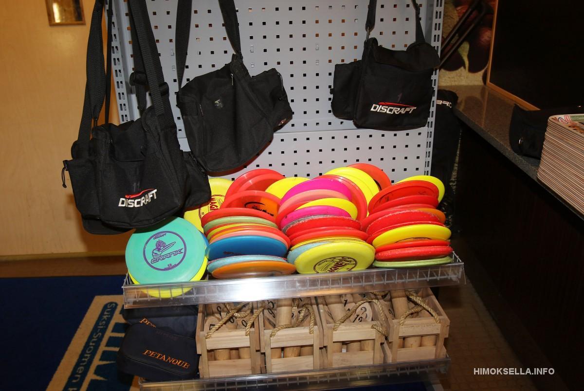 Tiesitkö mitä frisbeegolf-kiekkojen numerot tarkoittavat?